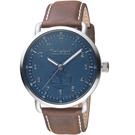 Timberland經典簡約時尚手錶 TBL.15939JS/03 藍