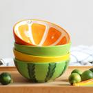 日式可愛陶瓷碗家用水果沙拉小碗學生米飯碗湯碗兒童吃飯餐具