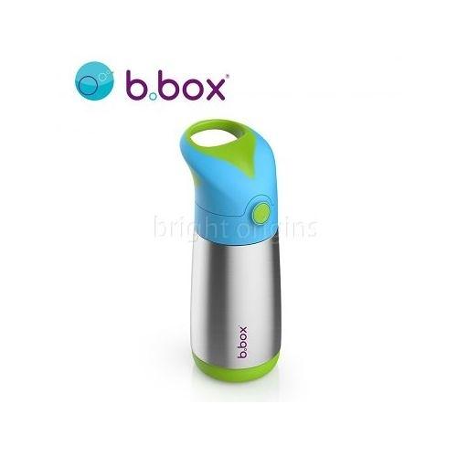 澳洲 b.box 不鏽鋼吸管保冷杯350ml(海洋藍)[衛立兒生活館]