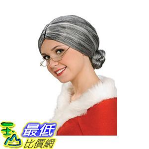 [106美國直購] Rubies Costume Characters Old Lady/Mrs.Santa Wig