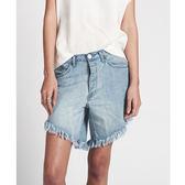 OneTeaspoon 牛仔短褲  LONG LENGTH DENIM SHORT - FRANKIES -  女(藍)