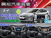 【專車專款】2014~2015年 Hyundai New Elantra 適用8吋彩色液晶全觸控DVD主機