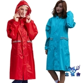 雨衣長款全身男女騎行旅行連體加厚戶外防水雨衣外套【古怪舍】
