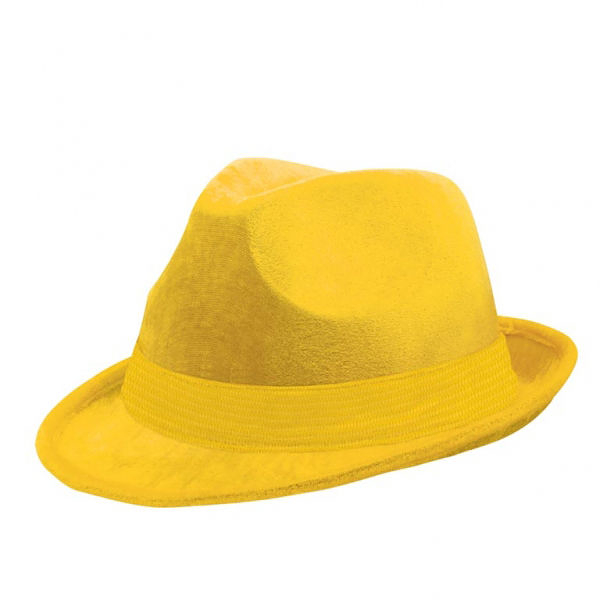 紳士帽1入-日光黃
