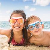 COPOZZ兒童泳鏡防水防霧高清男女童5-12歲專業大框游泳眼鏡潛水鏡