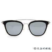 PAUL HUEMAN 韓流墨鏡  雙槓貓眼 太陽眼鏡 PHS1083A C05 黑-銀 久必大眼鏡
