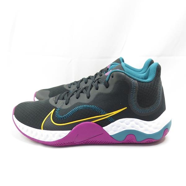 NIKE RENEW ELEVATE 男女款 籃球鞋 CK2669005 黑x紫 大尺碼【iSport愛運動】