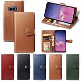 三星 S10 S10+ S10e Note9 S9 S9 Plus 圓扣商務款 手機皮套 插卡 支架 掀蓋殼 保護套