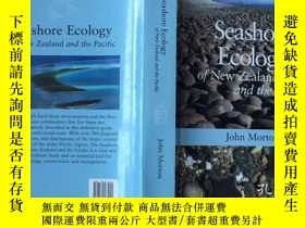 二手書博民逛書店Seashore罕見Ecology of New Zealand