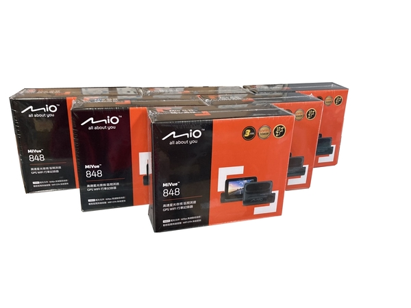 MIO 848D【安裝/送32G+2代電力線】區間測速提示/星空級/行車記錄器/(848+A50)