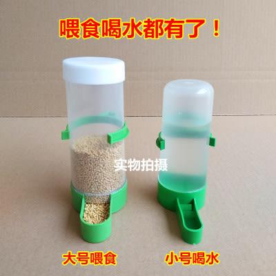 餵食器八哥鸚鵡鴿子鳥用自動飲水器喂水器鴿子用品用具下料器喂食器食槽 LX