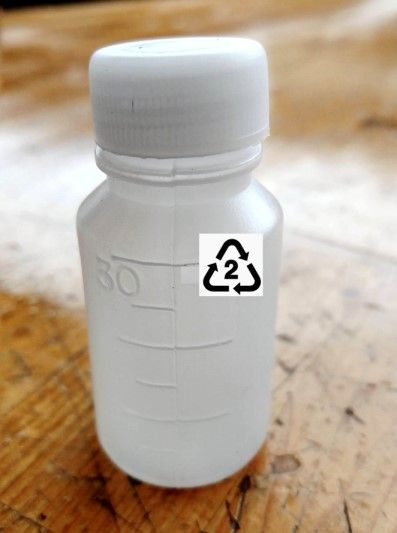 藥水瓶空瓶 30ML 材質 HDPE 2號(收納旅行分裝) 分裝瓶 顏料瓶 含內蓋