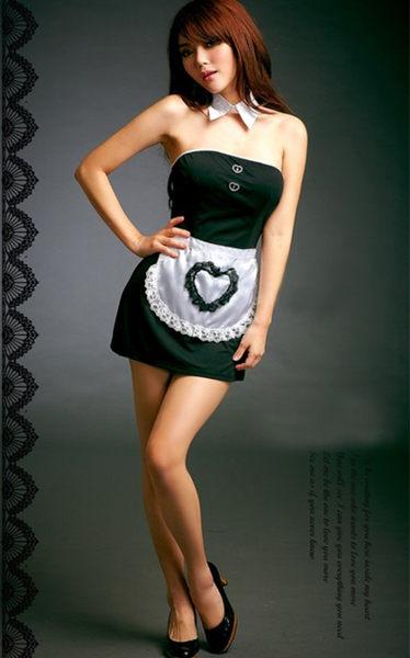 【愛愛雲端】愛愛雲端 角色扮演 情趣用品 三件式連身女僕裝 R8NA11030013