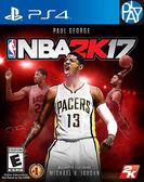 PS4-二手片 NBA 2K17 中文版 PLAY-小無電玩