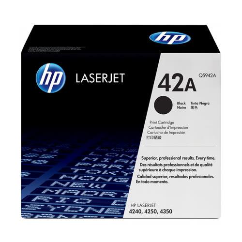 【全館免運●3期0利率】HP 原廠黑色碳粉匣 Q5942A 適用 HP LaserJet 4250/4350 雷射印表機