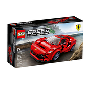 76895【LEGO 樂高積木】speed 賽車系列 - 法拉利 Ferrari F8 Tributo