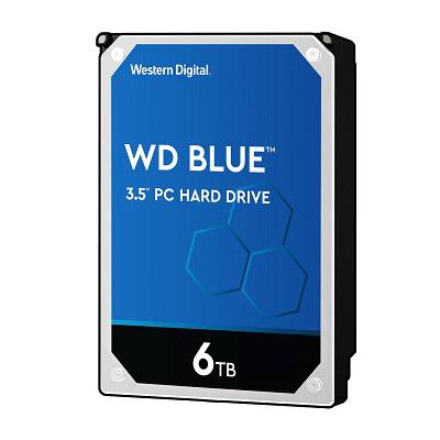 WD 藍標 2TB 6TB 3.5吋桌上型硬碟(WD60EZAZ)