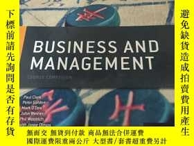 二手書博民逛書店IB罕見Business and Management Cour