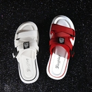 拖鞋女 網紅拖鞋女外穿時尚2020夏季新款情侶厚底孕婦大碼半托沙灘涼拖鞋 一次元