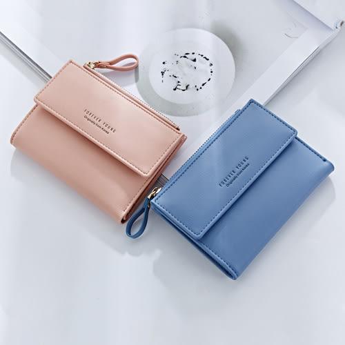 短夾皮夾 簡約兩折包皮夾卡包錢包短夾【WNB366-1】 BOBI  12/01
