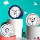 熱賣鬧鐘 TQJ早教鬧鐘兒童學習床頭座鐘學生用靜音桌面鐘時尚認錶時鐘臺鐘 【618 狂歡】
