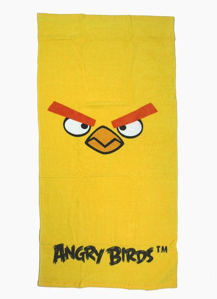 【卡漫城】憤怒鳥 黃色 大浴巾 ㊣版 Angry birds 小涼被 純棉 大毛巾