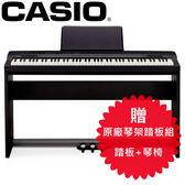 【敦煌樂器】CASIO PX160 BK 黑色款 88鍵電鋼琴