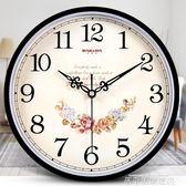 掛鐘巴科達鐘表掛鐘客廳現代簡約時鐘家用靜音個性創意時尚掛表石英鐘【全館免運】igo