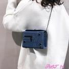 側背包鏈條小包包女包新款潮秋冬季網紅韓版側背斜背包時尚百搭春季新品