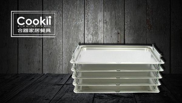【Cookii Home.合器】可疊式不銹鋼托盤32x53x2cm.13Ci0168【單層托盤】