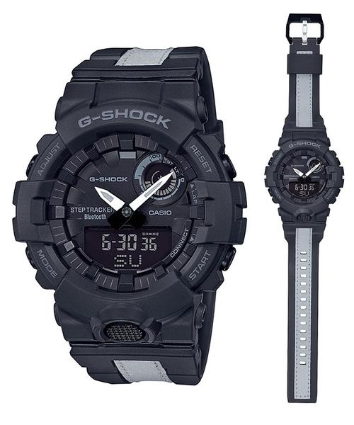 CASIO 卡西歐 G-SHOCK 手機連線 (GBA-800LU-1A)運動 計步 手錶/48mm