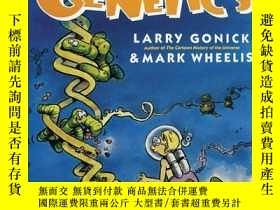 二手書博民逛書店The罕見Cartoon Guide to Genetics 遺