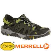 【美國 MERRELL】ALL OUT BLAZE 男 水陸兩棲鞋『綠色』65233 機能鞋.多功能鞋.黃金大底