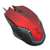 FOXXRAY 鐵甲戰狐光學滑鼠 FXR-BM-08-RD 紅