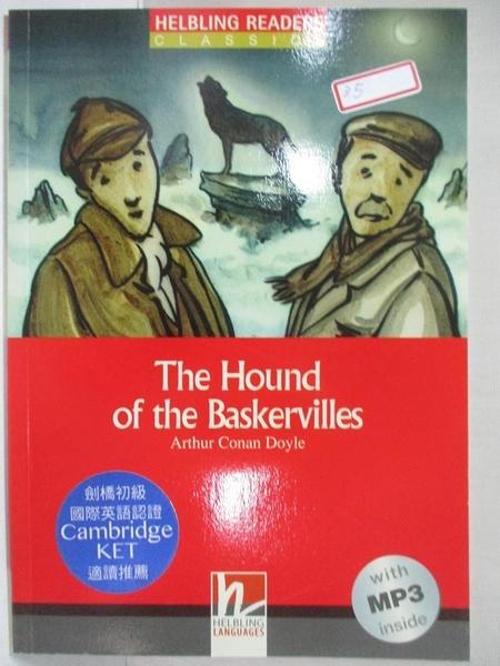 【書寶二手書T1/原文小說_GKV】Helbling Readers Red Series Level 1:The Hound…