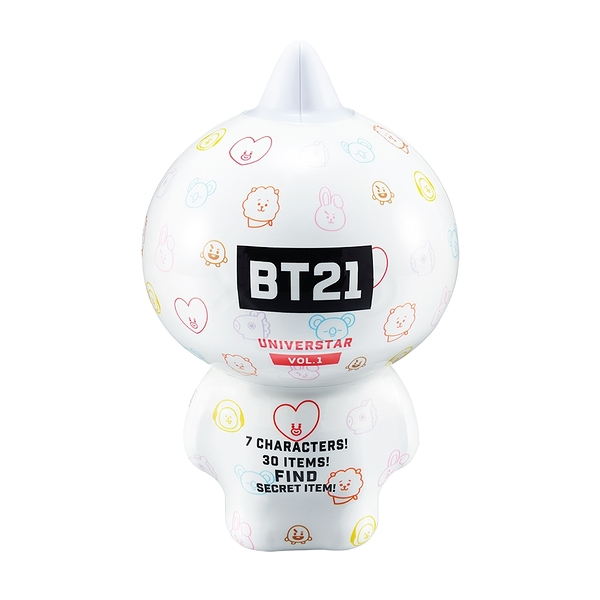 宇宙明星BT21 超級巨星公仔組 第一彈 Base Camp Theme_ YT19001x7