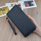 女長款多功能手機包簡約時尚韓版皮夾子拉鏈個性2018新款 萬客居