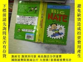 二手書博民逛書店Peirce罕見3 BIG NATE ON A ROLL皮爾斯3
