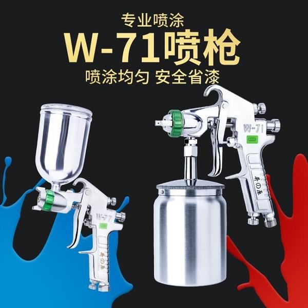 日本井原W-71汽車油漆噴槍噴漆上壺家具氣動工具高霧化涂料噴漆槍 【蜜斯sugar】