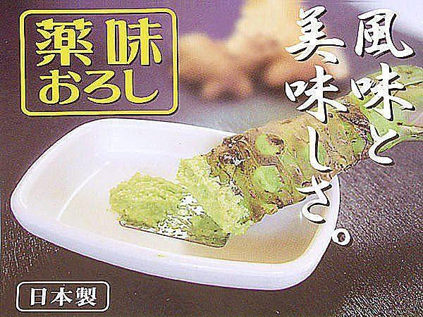日本製 WASABI 山葵 芥末醬 生薑 人蔘 磨具 磨泥器 搗泥器【SV3615】BO雜貨