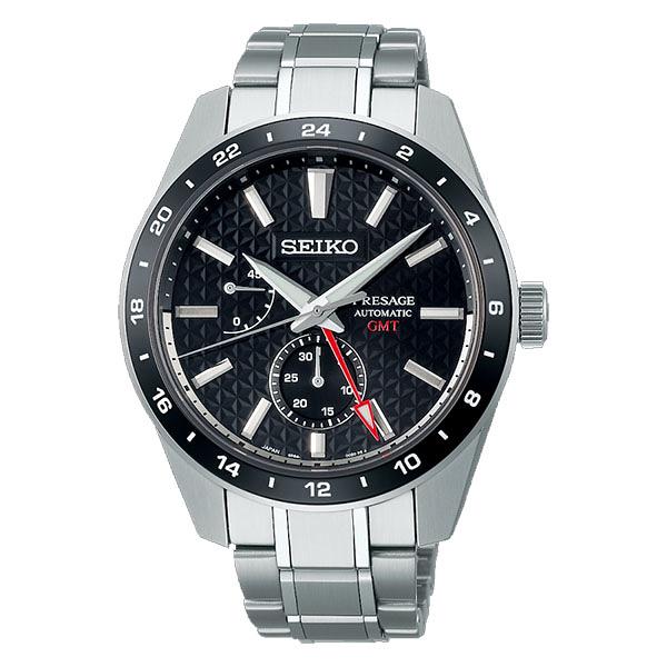 日本精工SEIKO Sharp Edged Series 新銳系列動力顯示機械錶 6R64-00C0D (SPB221J1)黑面