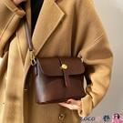 熱賣斜背包 高級小眾包包女2021新款潮時尚百搭爆款水桶包網紅洋氣側背斜背包 coco