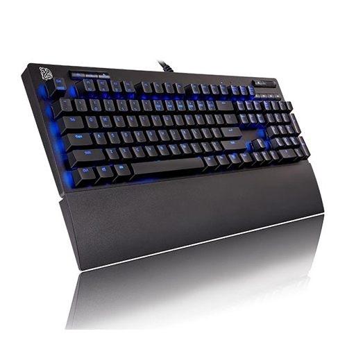 [富廉網]【Tt eSPORTS 曜越】海王星Pro 青軸 鍵盤 (KB-NPP-TBBLTC-01)