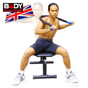 擴胸健身椅│【BODY SCULPTURE】舒腰展背椅.伸展機.美背機.健身運動器材.推薦哪裡買