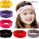 甜美女童糖果色中國結麻花造型髮帶 頭飾 髮箍