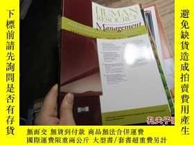 二手書博民逛書店HUMAN罕見RESOURCE MANAGEMENT VOL52