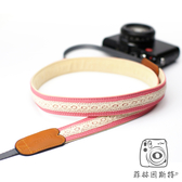 mi81 【 粉紅蕾絲 相機背帶 】 相機背帶 頸帶 減壓帶