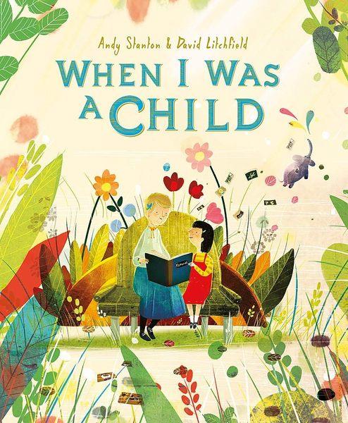 【麥克書店】WHEN I WAS A CHILD /英文繪本《主題: 想像.世界.存在》