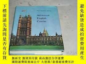 二手書博民逛書店Advanced罕見English Course(The Lin