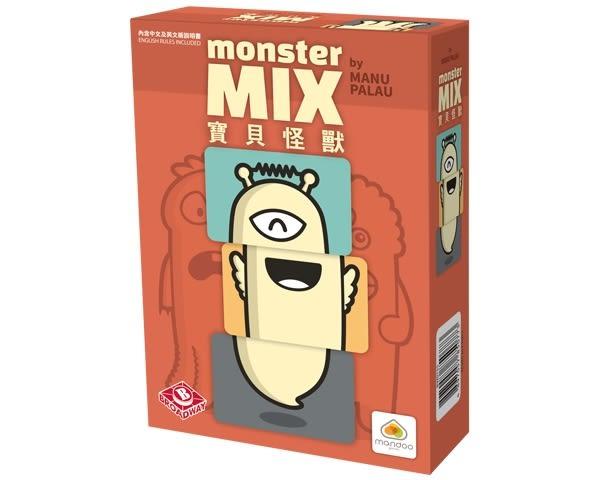 『高雄龐奇桌遊』寶貝怪獸 Monster Mix 繁體中文版 ★正版桌上遊戲專賣店★